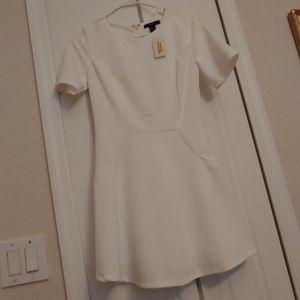Forever 21 White mini dress